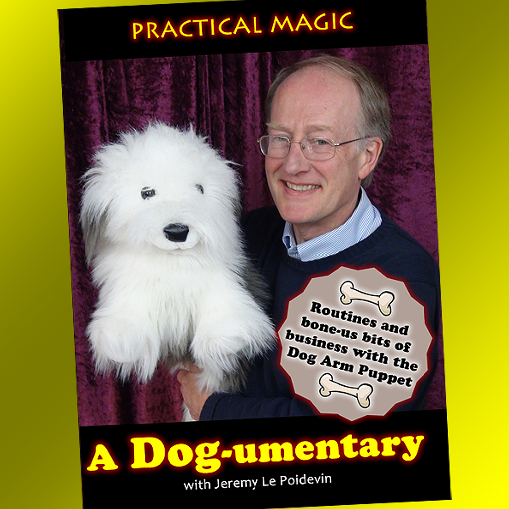 DOG ARM PUPPET DVD - Jeremy Le Poidevin