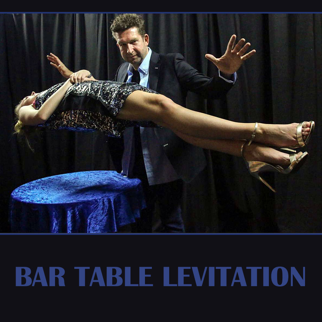 BAR TABLE LEVITATION - with flightcases