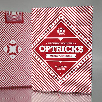 RED MECHANICS OPTRICKS DECK