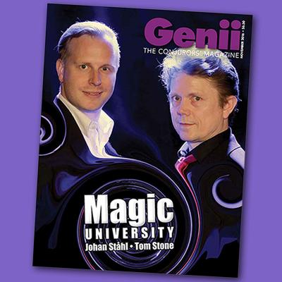 GENII MAGAZINE - latest issue