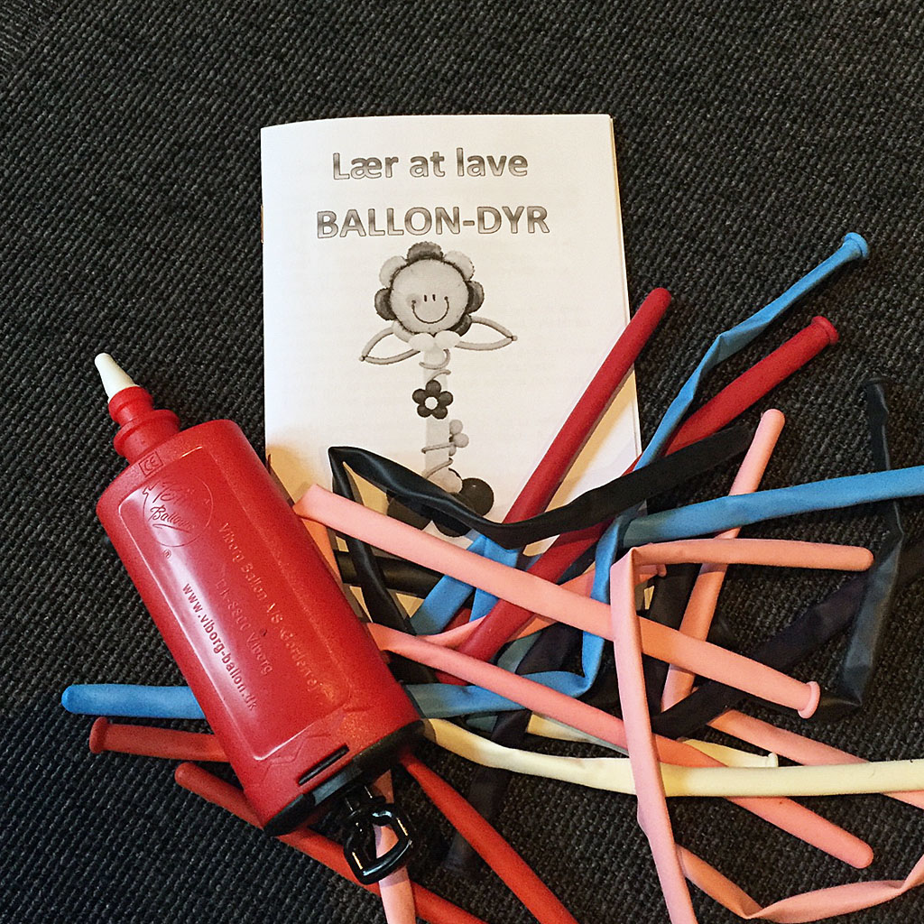 TWISTING BALLOONS - starter kit with pump