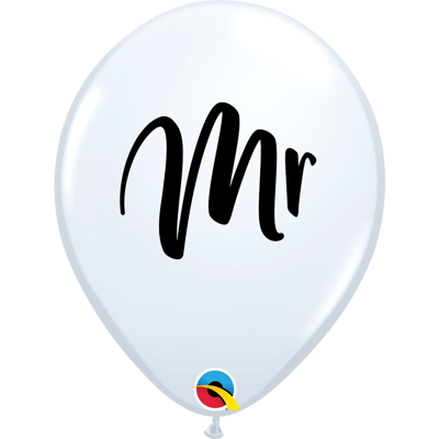 "MR 11"" BALLOONS - 25 pcs."