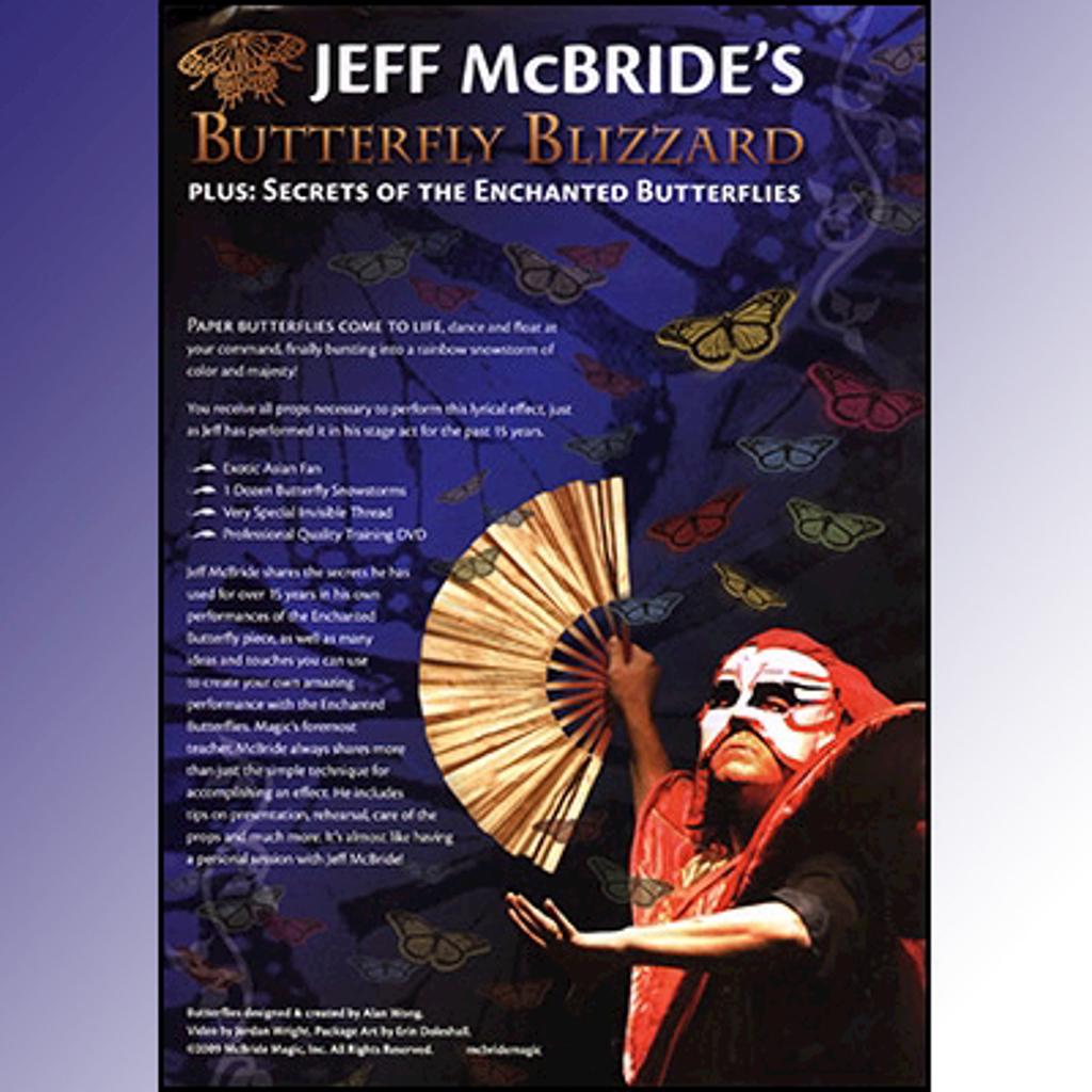 BUTTERFLY BLIZZARD - Jeff McBride