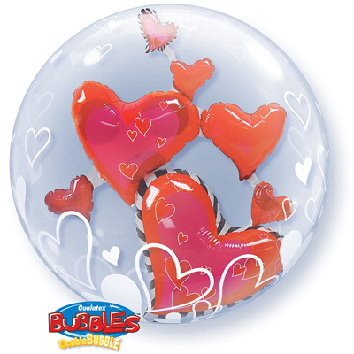 LOVELY FLOATING HEARTS