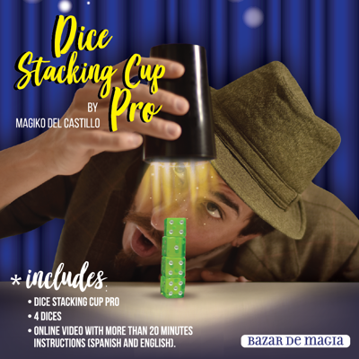 DICE STACKING CUP PRO
