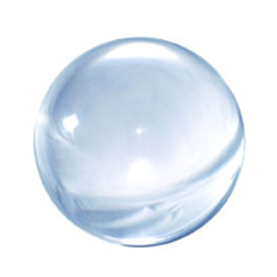ACRYL BALL 100 mm. - clear