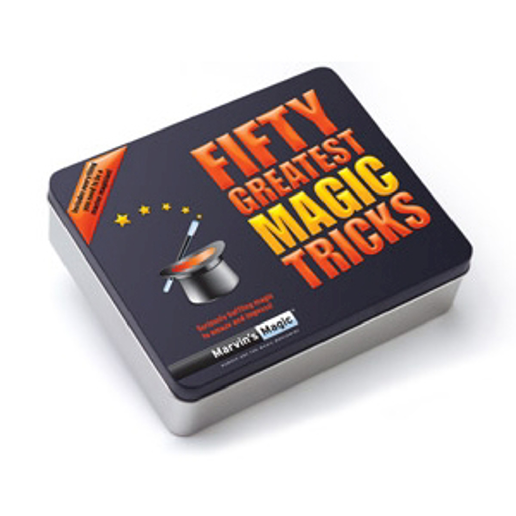 FIFTY GREATEST MAGIC TRICKS