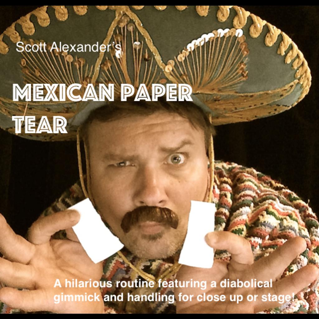 MEXICAN PAPER TEAR - Scott Alexander