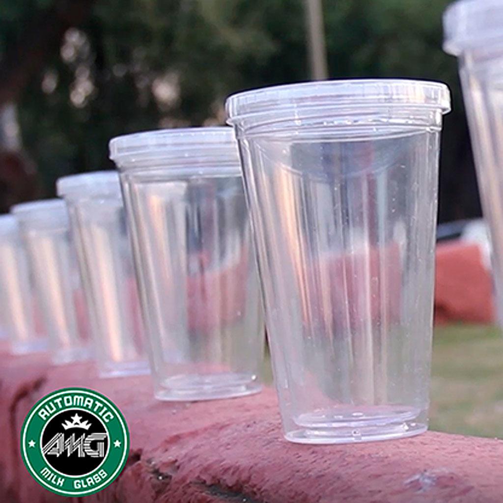 AUTOMATIC MILK GLASS