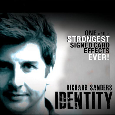 IDENTITY - Richard Sanders