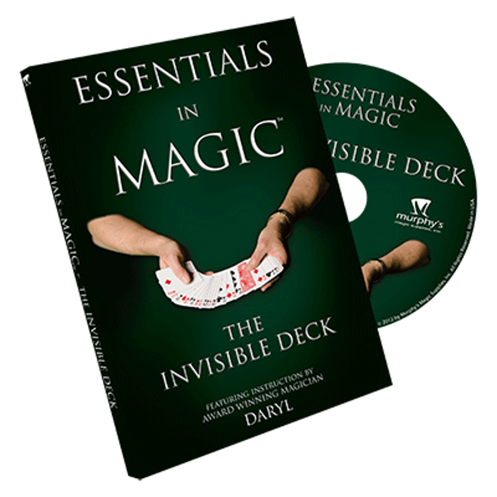 INVISIBLE DECK DVD - Daryl