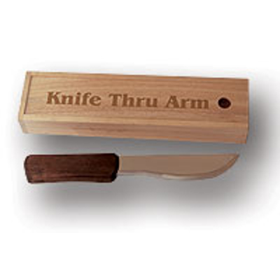 KNIFE THRU ARM - Love Melander