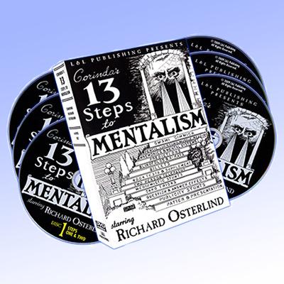 13 STEPS TO MENTALISM (6 DVD-BOX)