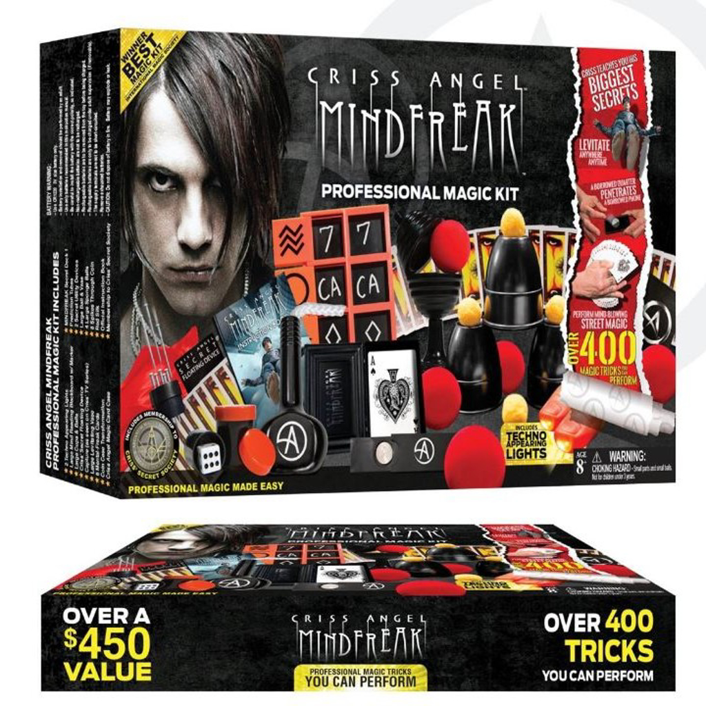 CHRISS ANGEL MINDFREAK PROFESSIONAL MAGIC KIT