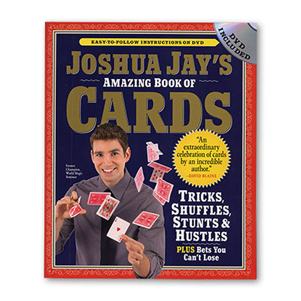 AMAZING BOOK OF CARDS - Joshua Jay