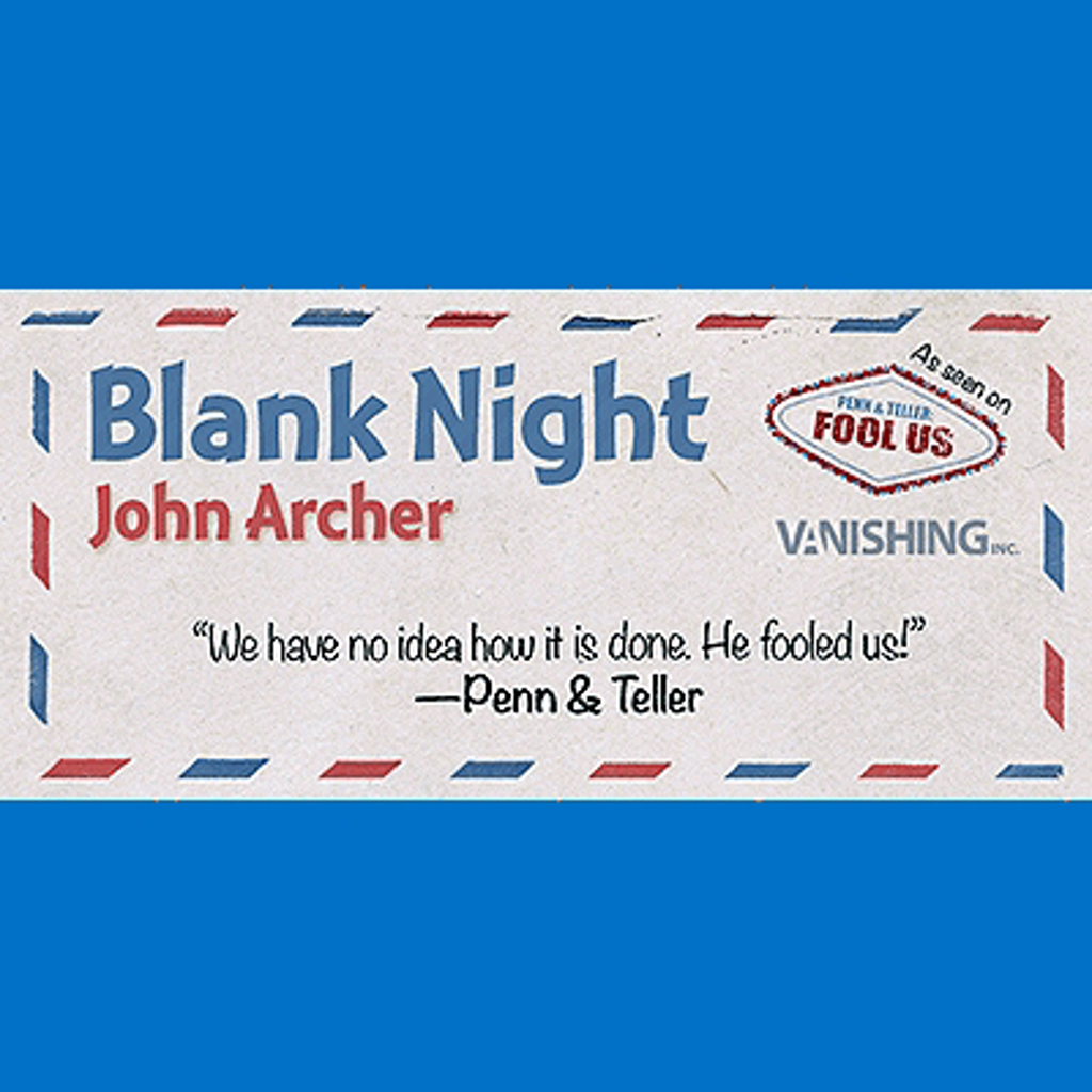 BLANK NIGHT - John Archer