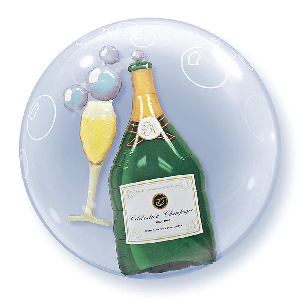 CHAMPAGNE DOUBLE-BUBBLE