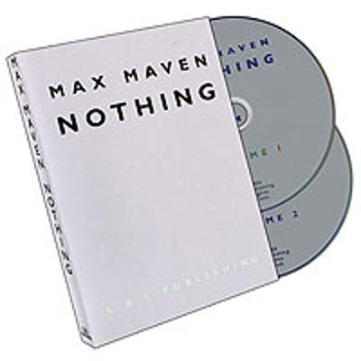 NOTHING - Max Maven - dobbelt DVD