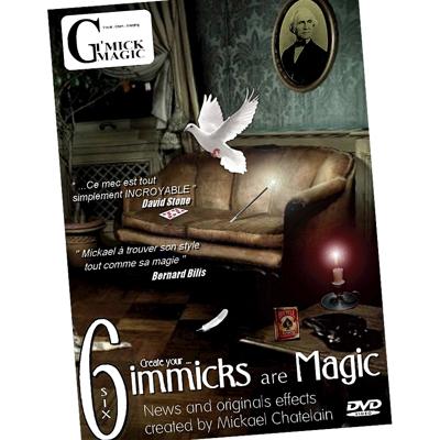 SIX (DVD + gimmicks) - Mickael Chatelain