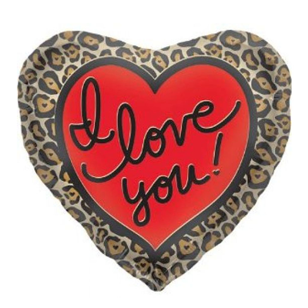 LEOPARD I LOVE YOU
