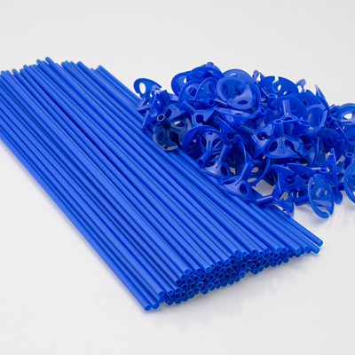 BALLONPIND PLAST 40 cm. - 100 stk.