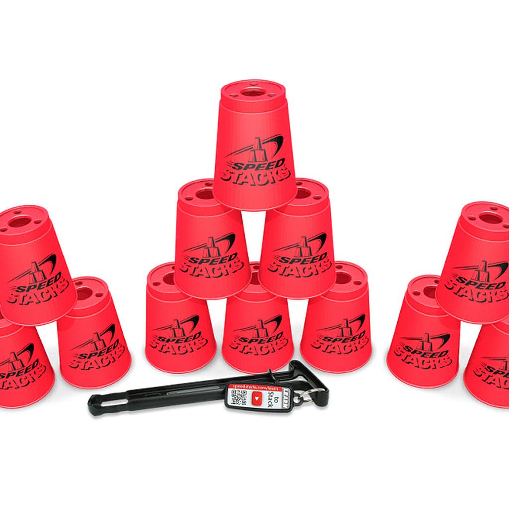 SPEEDSTACKS - 12 cups + quick release stem