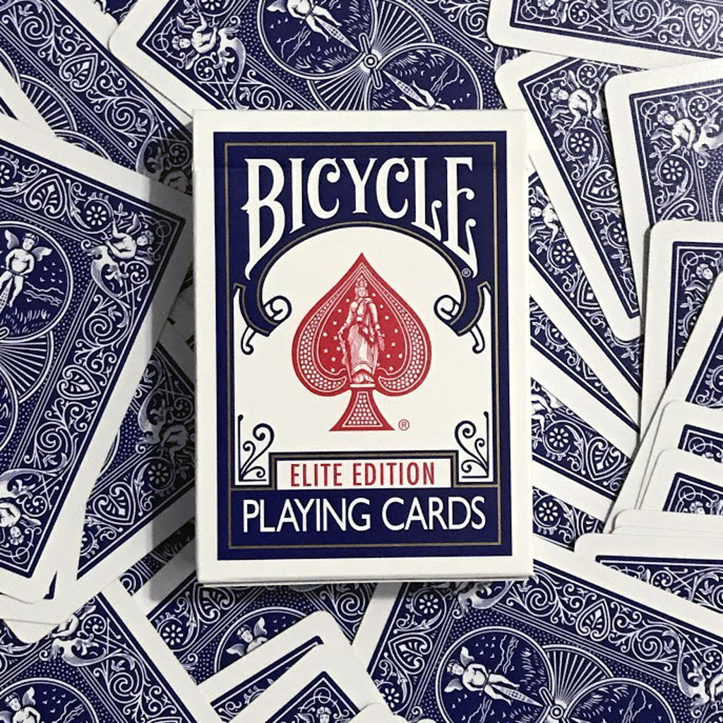 BLUE BICYCLE ELITE EDITION PLAYING CARDS