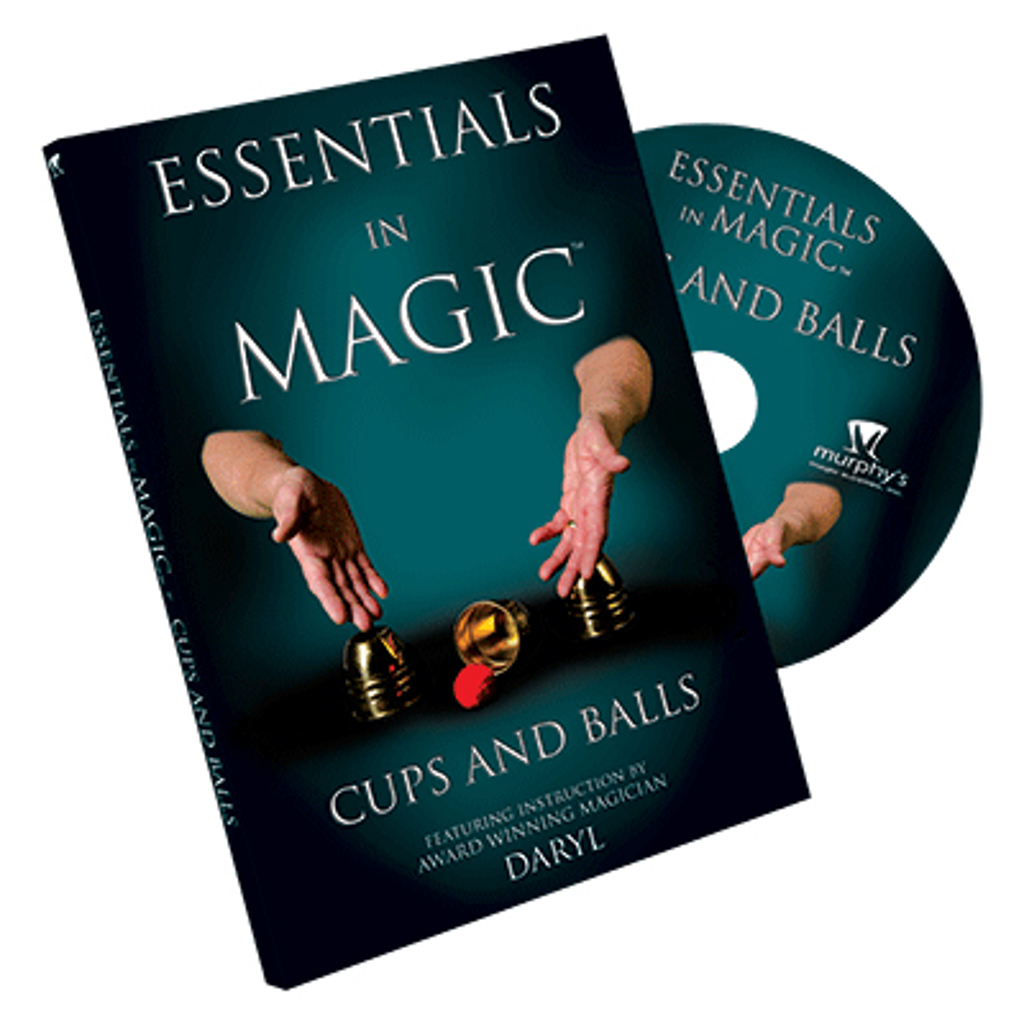 CUPS AND BALLS DVD - Daryl