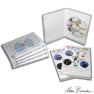 DIABOLO FOLIES 1 & 2 DVD