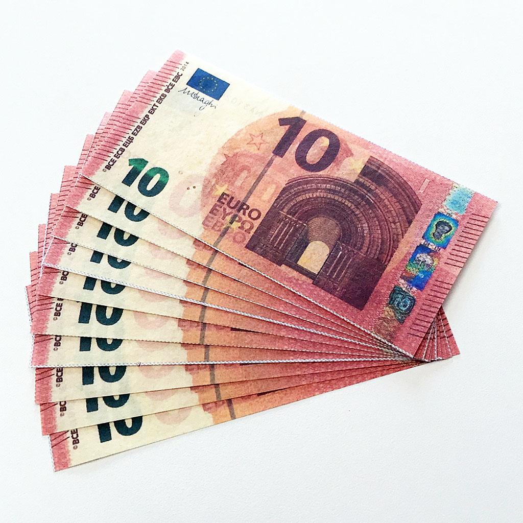 FLASH EURO BILLS - 10 pcs.