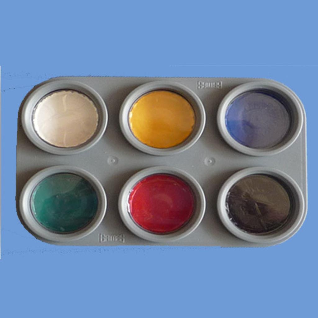 GRIMAS WATER MAKEUP PALETTE - 6 colours