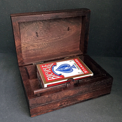LOCKING CIGAR BOX
