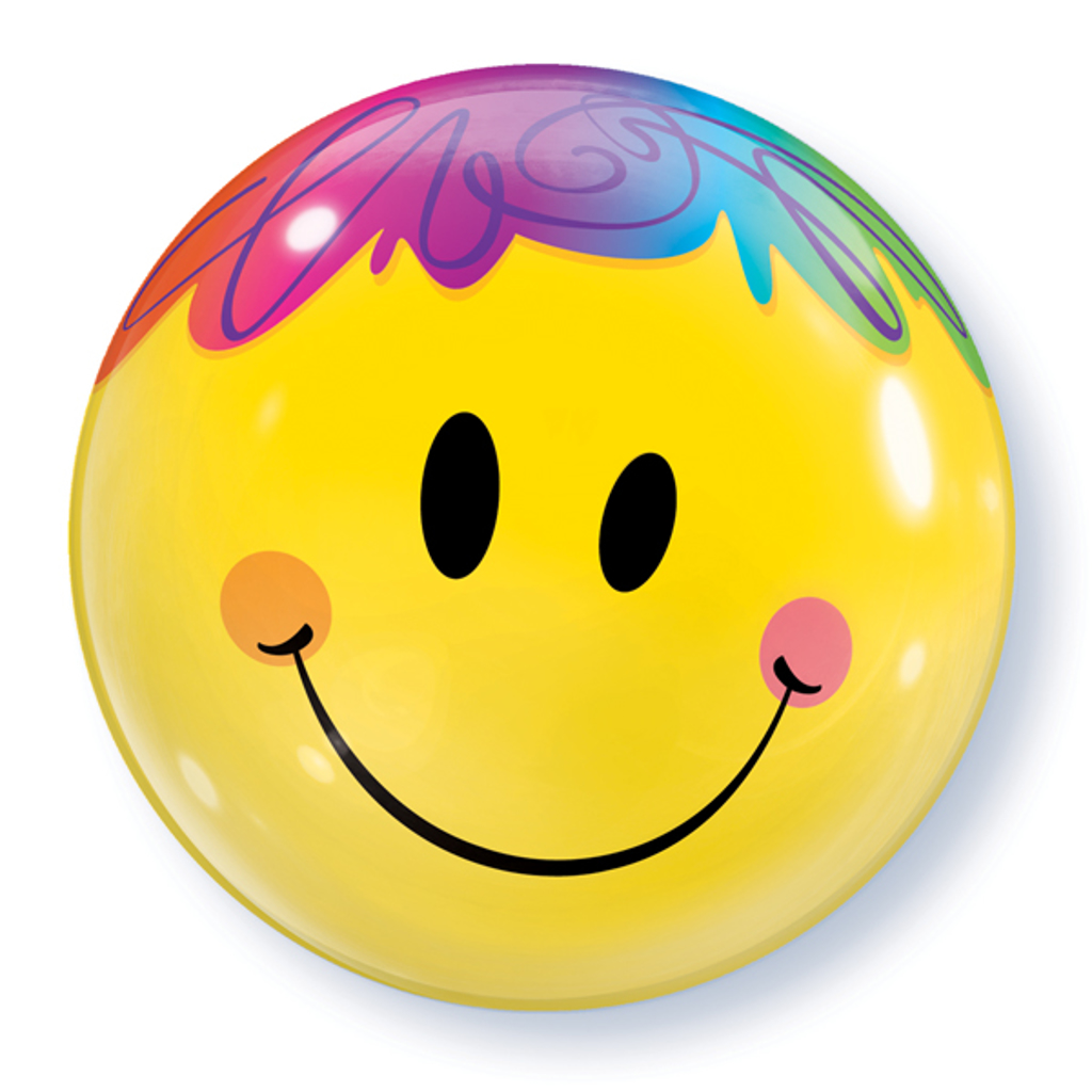 SMILEY BUBBLE BALLON