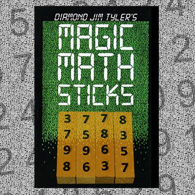 MAGIC MATH STICKS - Diamond Jim Tyler