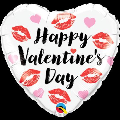 VALENTINE KISSY LIPS BALLOON