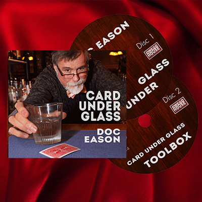 CARD UNDER GLASS - Doc Eason