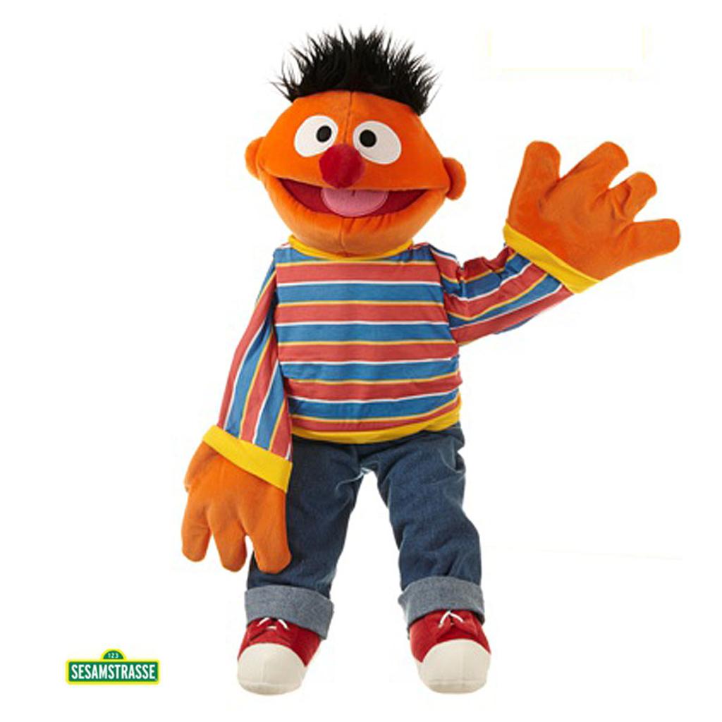 BUGTALERDUKKE - Ernie