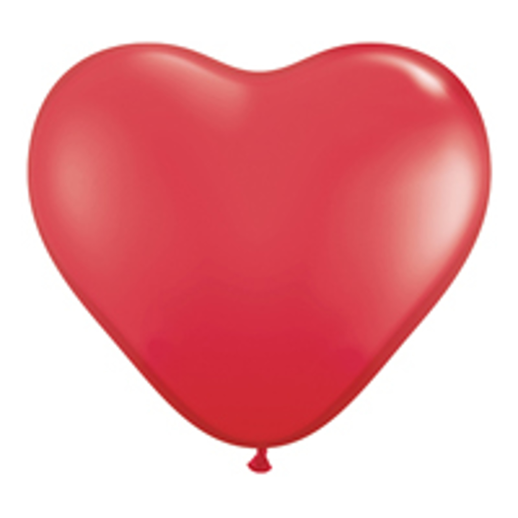 BALLOON HEART 11HQ - 100 stk.
