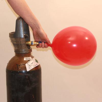 BALLONGAS - lejeflaske med 10 liter helium