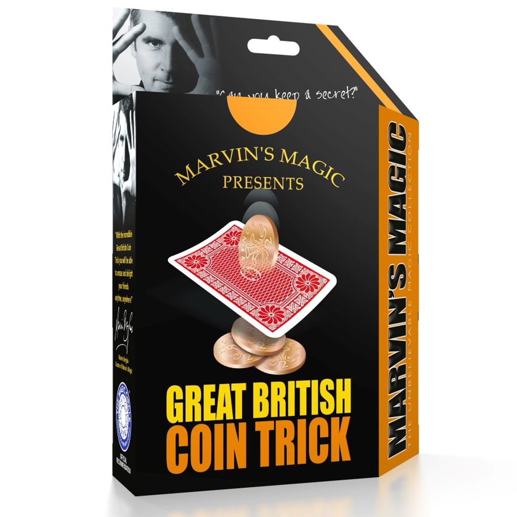 GREAT BRITISH COIN TRICK