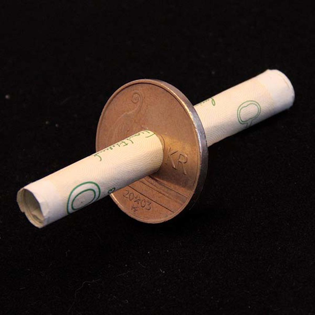 BILL THRU COIN - Norwegian 20-krone