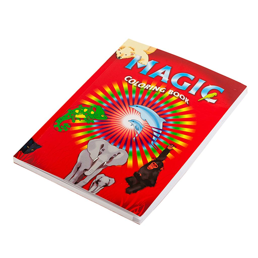 MAGIC COLOURING BOOK - medium size