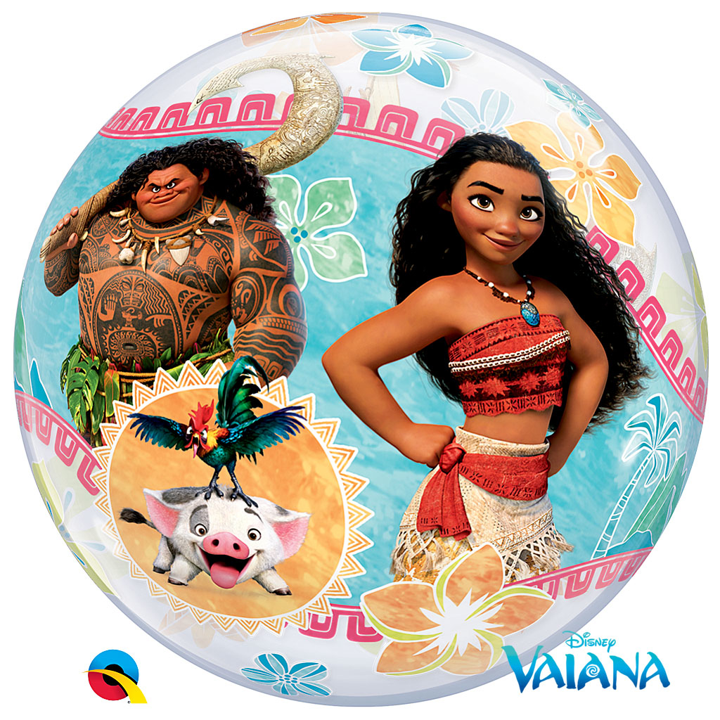 DISNEY VAIANA BUBBLE BALLON