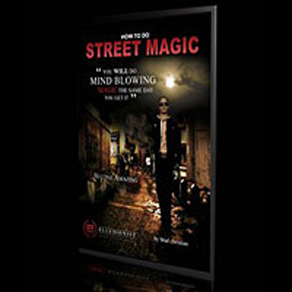 STREET MAGIC DVD - Brad Christian