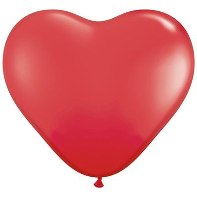 BALLOON HEART 11HQ - 100 stk.