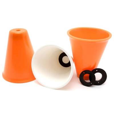 JUGGLING CUPS - pr. stk. med to vægte