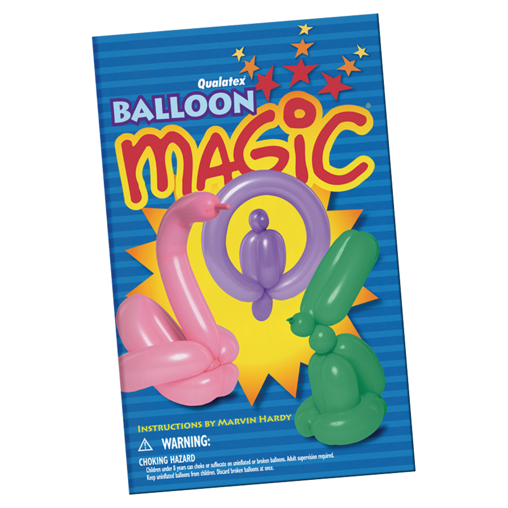BALLOON MAGIC BOOKLET - Marvin Hardy