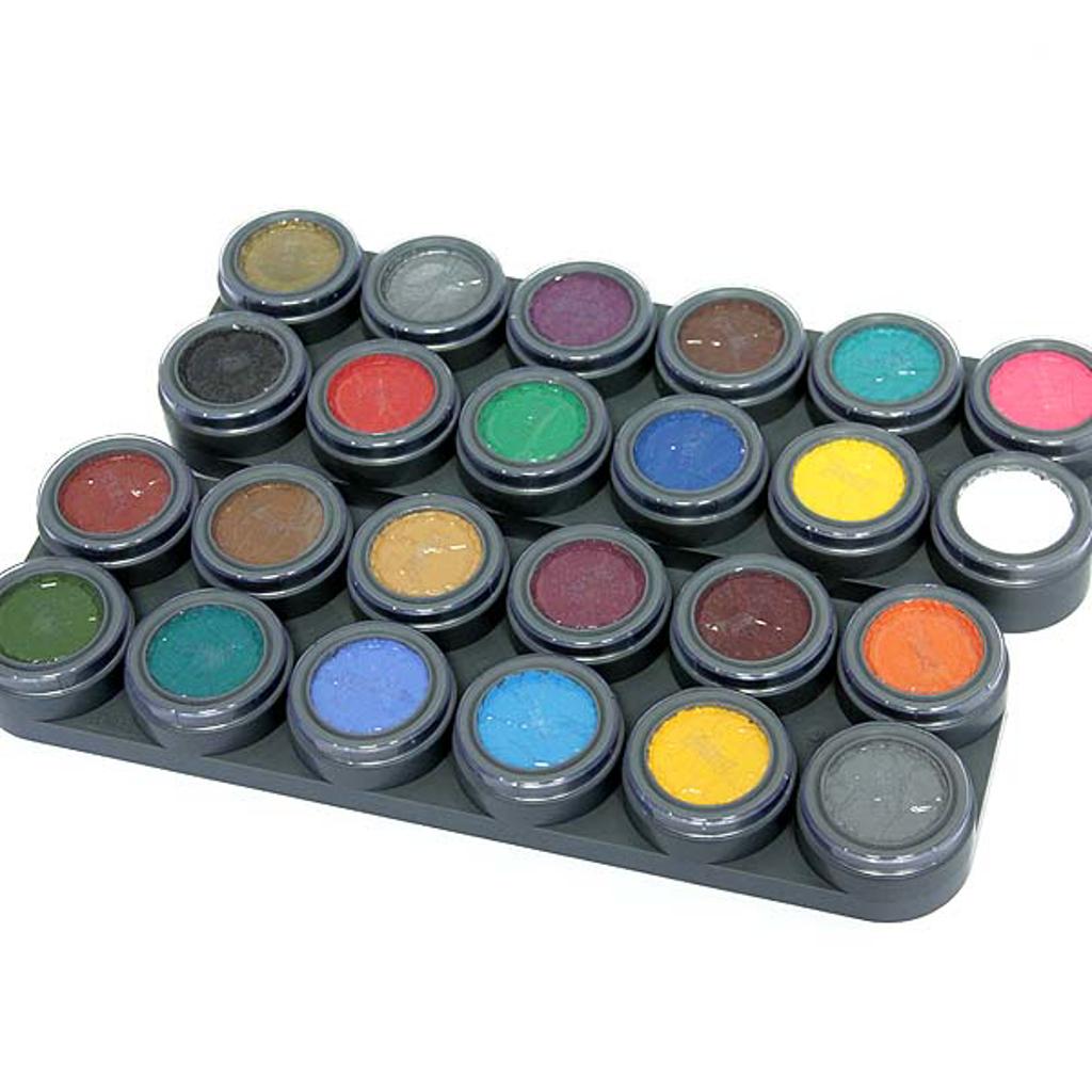 GRIMAS WATER WAKEUP PALETTE - 24 colours
