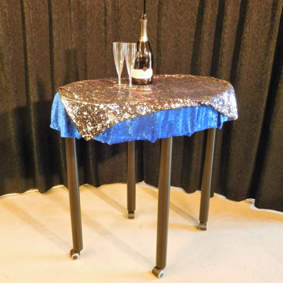 BAR TABLE LEVITATION - with flightcases