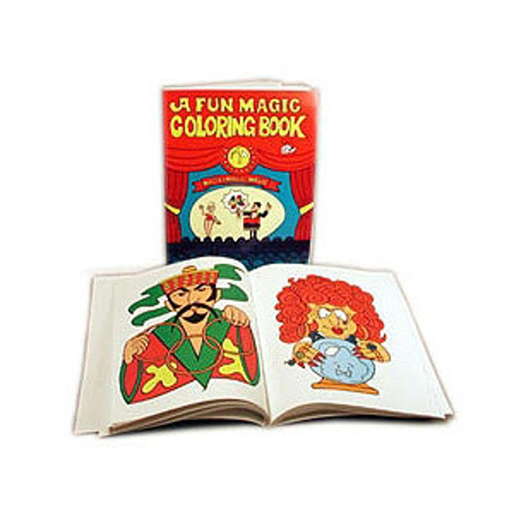 MAGIC COLOURING BOOK - big
